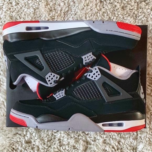 84101bf04fbe9 Jordan Shoes | Air 4 Bred Retro Cement 308497060 105 | Poshmark